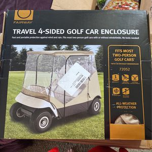 Travel 4-sided Golf Cart Enclosure for Sale in Edgewood, MD
