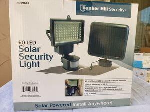 Bunker Hill Security Solar Security Light for Sale in Arden-Arcade, CA