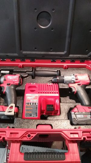 Milwaukee m18 fuel packout impact and drill for Sale in Billings, MT