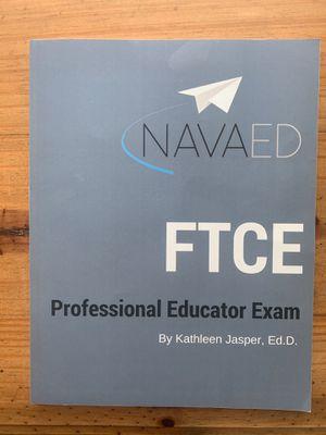 NAVAED FTCE Professional Educator Exam Study book for Sale in Miami, FL