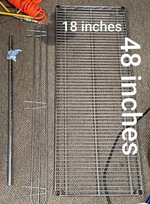 Wire shelves industrial heavy duty cart for Sale in Chandler, AZ