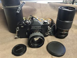 CHINON CS film Camera with more for Sale in Haddon Heights, NJ
