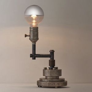 NWT- Restoration Hardware Industrial Style Dimmable Table Lamp for Sale in San Pedro, CA