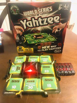 2012 Hasbro World Series of Yahtzee Board Game for Sale in Pawtucket, RI