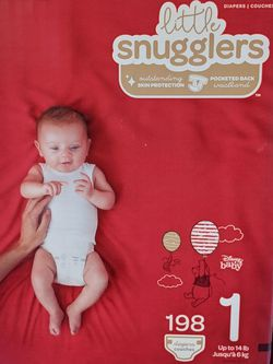 Huggies Little Snugglers Size 1 (198 Diapers) for Sale in Bellflower,  CA