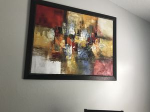 Abstract art canvas for Sale in Tampa, FL