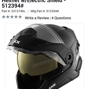 Ckx Mission Snowmobile Helmet Carbon Size Large for Sale in Dearborn, MI