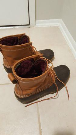 LL Bean Bean Boots Size 12W for Sale in Reston,  VA