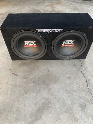 """12"""" subwoofers for Sale in San Rafael, CA"""