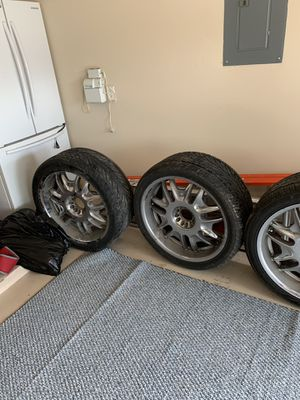 24 inch rims and tires for Sale in Spring, TX