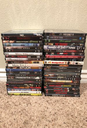 DVDs/Blu-ray for sale for Sale in Hawthorne, CA
