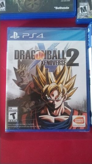 Dragon Ball xenovere2 never been open brand new ..its 40 in stores ill take 30 for Sale in Nashville, TN