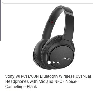 Wireless Sony WH - CH700 Wireless Headphones for Sale in Galloway, OH