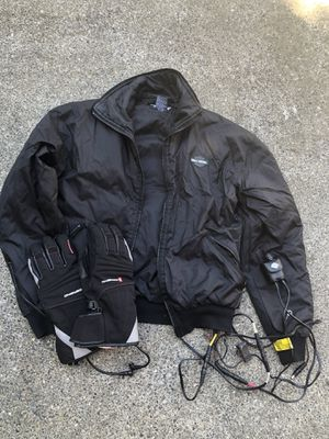 Harley Davidson Heated Jacket, Gloves, and Controller for Sale in Puyallup, WA