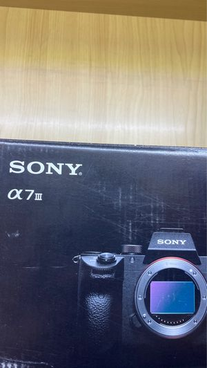 Sony a7 iii camera for Sale in Costa Mesa, CA