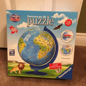 Ravensburger 3D Globe Puzzle 180 Pieces for Sale in Los Angeles, CA
