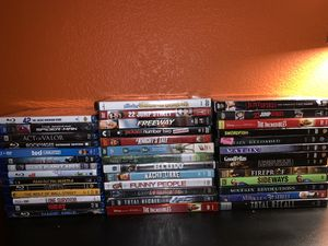 40 Blu-Ray's and DVD's In Great Condition for Sale in Sachse, TX