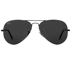 Ray Ban Sunglasses Aviator Black Lens Black Frame for Sale in Staten Island, NY