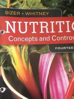 Nutrition Concepts And Controversies for Sale in Bell Gardens,  CA