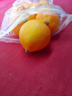 8 Pack Lifelike Artificial Simulation Oranges Fake Fruit Home Kitchen Cabinet Decoration for Sale in Spartanburg, SC