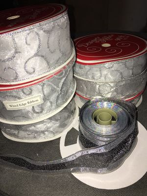 Designer Holiday Ribbon (7 spools) for Sale in Knoxville, TN