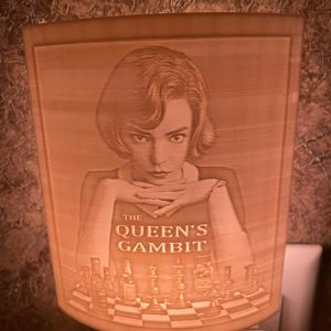 "Queen""s Gambit inspired Night Lamp for Sale in Fort Lauderdale, FL"
