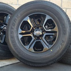 "17"" Toyota Tacoma 4Runner Wheels Rims Rines And Tires Llantas for Sale in Huntington Beach,  CA"