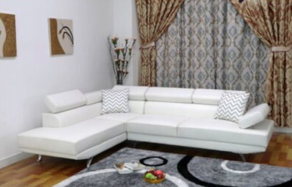 Brand new leather sectional in 4 colors