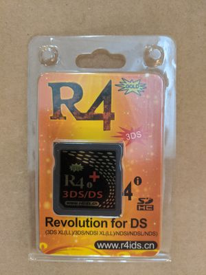 R4i Gold 3DS Plus + Cart Card for Sale in Pompano Beach, FL