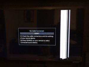 "Samsung 50"" LED TV for parts for Sale in Fairfax, VA"