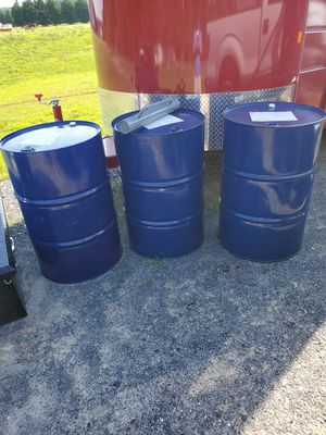 Steel barrels for Sale in Bridgeville, DE