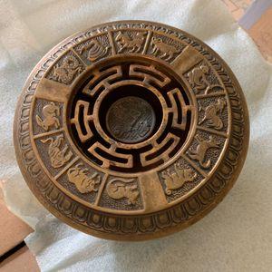 Bronze Chinese Zodiac Incense Burner for Sale in Rockville, MD