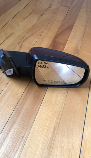 2014-2016 CHEVY MALIBU DRIVERS MIRROR for Sale in Worcester, MA