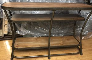 Ashley Furniture Nartina - Light Brown Sofa Table* BRAND NEW* for Sale in Fresno, CA