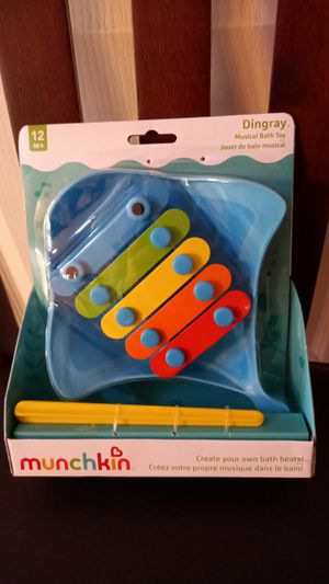 Munchkin Xylophone musical bath toy for 12+ months for Sale in Henderson, NV