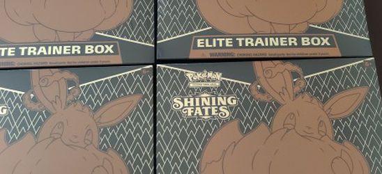Pokemon Shining Fates Elite Trainer Box ! for Sale in Long Beach,  CA