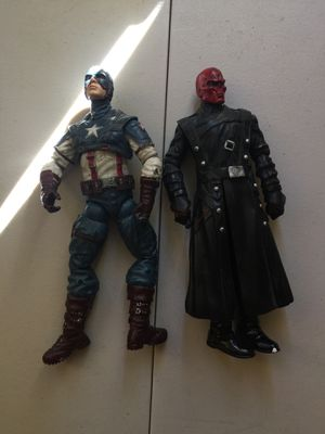 Captain America & Red Skull Action Figures for Sale in Weston, FL