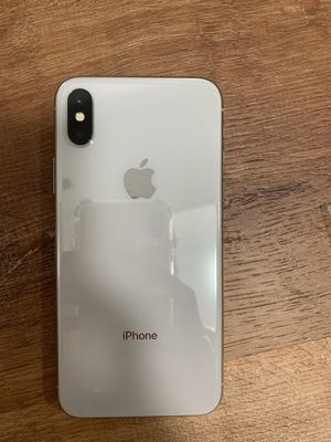 Unlocked for all carriers great condition iPhone X 64gb clean esn iCloud unlocked for Sale in Phoenix, AZ