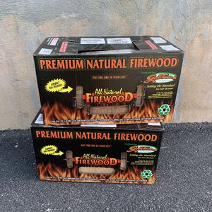 Goodtimes Wood 2 Boxed Firewood for $25 for Sale in Snellville, GA