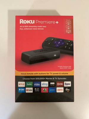 Roku Premiere Plus - 4K and HDR Streaming for Sale in Troutdale, OR