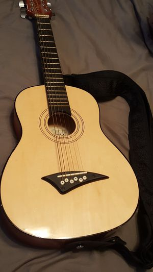 Kids playmate guitar with strap for Sale in Dallas, TX