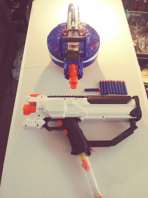 NERF ELITE HAIL-FIRE & NERF RIVAL MXV11- 1200 FOR SALE for Sale in Pasco, WA