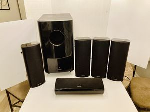 Onkyo Home Theatre Surround Sound 5 Speakers & Massive Active Powered Subwoofer for Sale in Spring Hill, FL