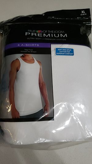 Mens XL Fruit of the Loom Muscle Shirts for Sale in Whittier, CA