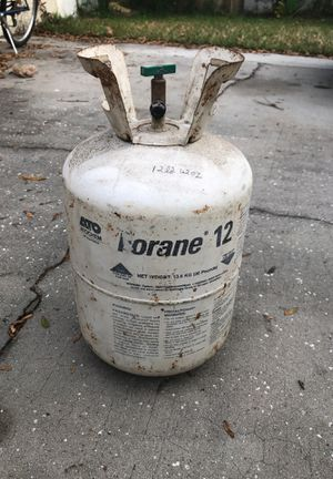 R12 Freon 6-7 lbs for Sale in Tampa, FL