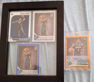 ZION WILLIAMSON AUTOGRAPHED RATED ROOKIE DONRUSS REFRACTOR ORANGE and more! for Sale in Waynesville, MO