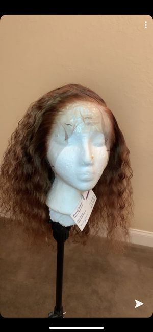 13X6 14in Brazilian Deep Curly Lace Front for Sale in Winter Haven, FL