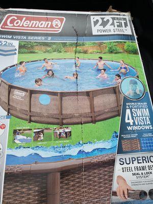 Big family fun 22 ft mega pool for Sale in Auburn, WA