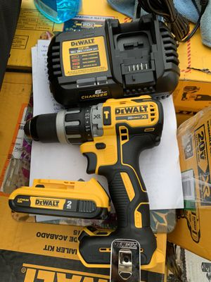 Dewalt hammer drill brushless Xr fast charger and battery price is firm. for Sale in Plant City, FL