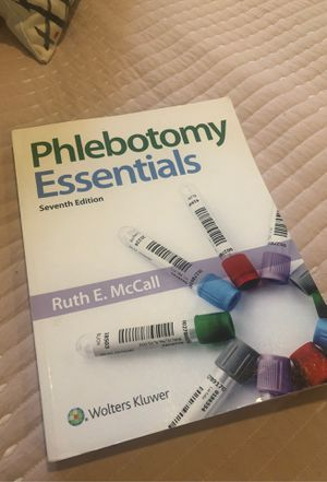 Phlebotomy Essentials NEW 7th Edition for Sale in Sacramento, CA